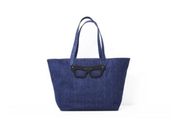 bag with eye-glasses